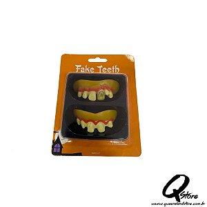 Dentadura Halloween - mod 1