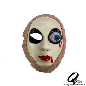 Máscara Fantasma Caolha Rosa -Plástico