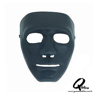 Máscara Bonitão Jabbawoockerz Preta -Plástico