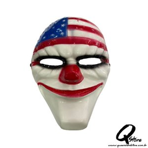Máscara Palhaço América- Plástico