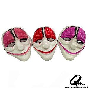 Máscara Palhaço Feliz Plástico - Unidade