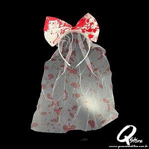 Tiara Véu c/ Sangue - Halloween