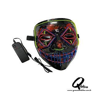 Máscara Anonymous Led Unidade- Cores Diversas