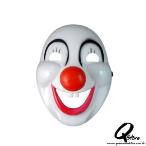 Máscara Palhaço Dentuço - Plástico