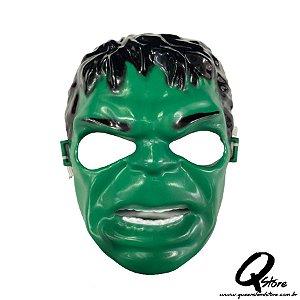 Máscara Hulk Infantil - Plástica