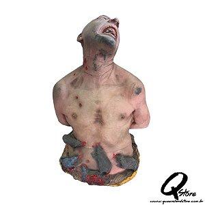 Boneco Halloween Homem Ratos c/ 70 cm   - 1 Unidade