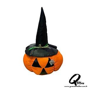 Peso de Porta Abóbora Grande 50 cm - Halloween