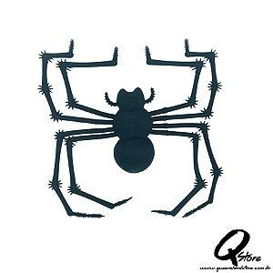 Aranha de Borracha Viúva Negra -Halloween