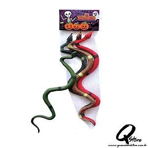 Kit Cobra de Borracha 3 Unidades -Halloween