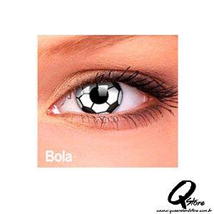 Lente de Contato Bola + Estojo grátis - Impressions Crazy