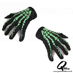 Luva de Esqueleto - Verde