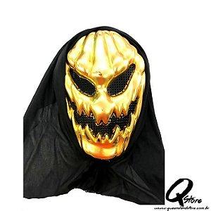 Máscara Abóbora Dourada