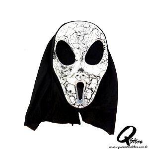 Máscara Caveira Riscada