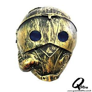 Máscara Mad Max Dourada