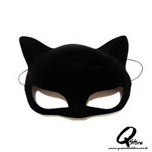 Máscara Mulher Gato Veludo