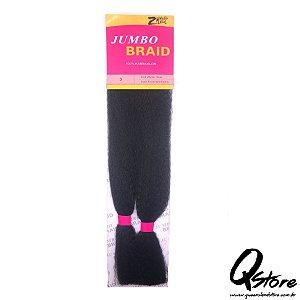 Cabelo Sintético Jumbo Braid  Cor: 3 - 80 Gramas