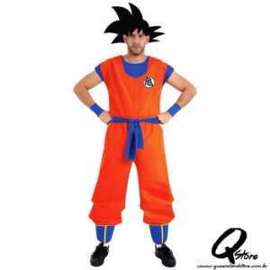 Fantasia Goku Adulto - Dragon ball Z