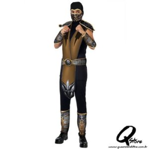 Fantasia Scorpion - Mortal Kombat Adulto