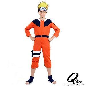 Fantasia Naruto Infantil Luxo
