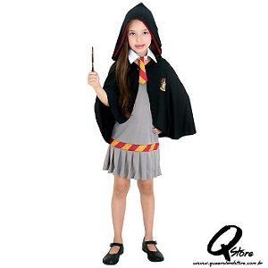 Fantasia Hermione Grifinória Infantil