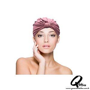 Turbante Liso -Cor: Rosa