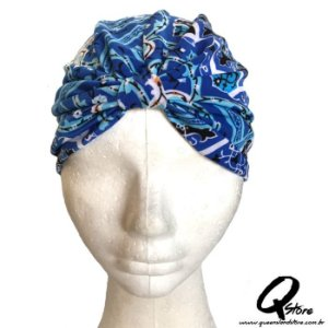 Turbante Liso Estampando - Modelo 5