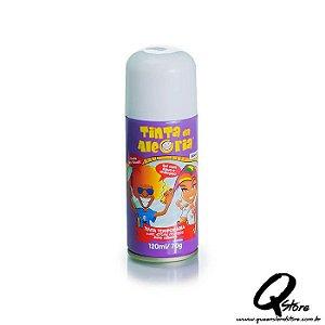 Tinta Spray Colorida para Cabelo - Branca