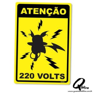 Placa Decorativa 24x16 220v
