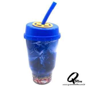 Copo do Thor  c/ Tampa e Canudo- 500ml