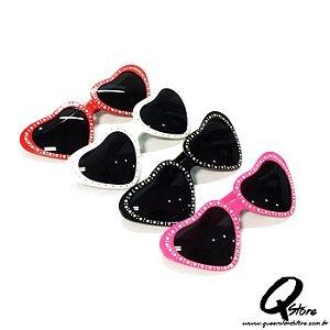 Óculos Coração  Plástico - Unidade