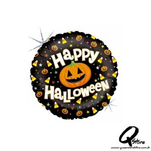 "Balão Metalizado Halloween Fun - Grabo Intl. - 18"" (Aprox. 45 cm)"