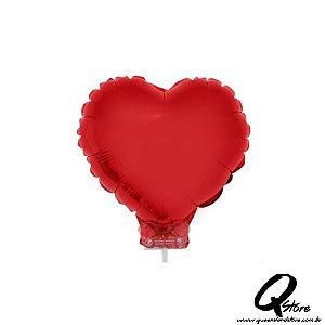 Balão Metalizado Coração - Grabo