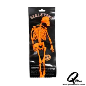 Esqueleto Borracha -Laranja