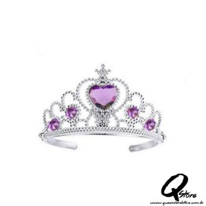 Tiara Arco Princesa -Roxo