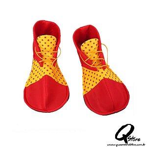 Sapato de Palhaço Simples