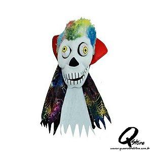 Fantoche Caveira Punk c/ Som