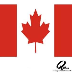 Bandeira Simples - Canadá