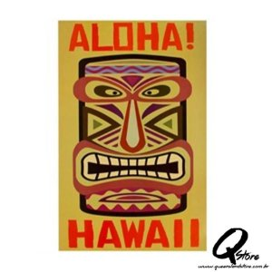 Painel Decorativo Aloha Hawaii