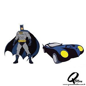 Painel Batman + Batmóvel Em Eva