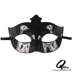Máscara Veneziana Lisa -  Preta