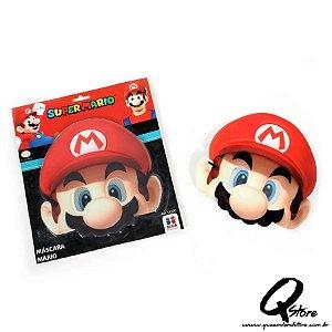 Máscara Super Mario  - Infantil