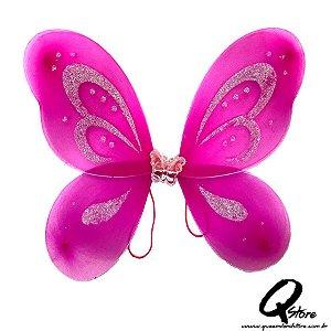 Asa de Borboleta Infantil - Pink