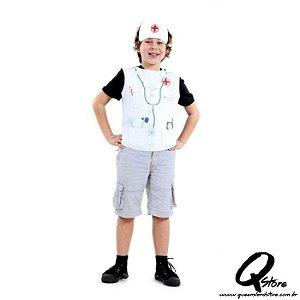 Kit Peitoral Médico Infantil - Profissões