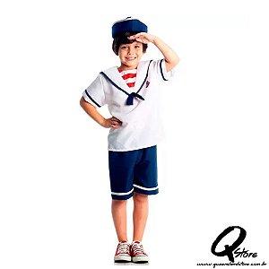 Fantasia Marinheiro Verão - Infantil