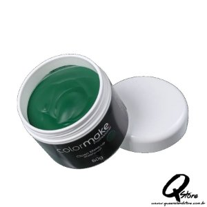 Colormake Clown Makeup Verde - Tinta Cremosa 60g