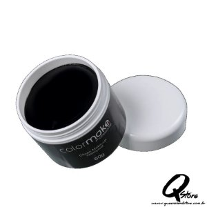Colormake Clown Makeup Preto - Tinta Cremosa 60g