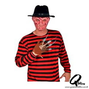 Fantasia Camisa Freddy Krueger -Halloween