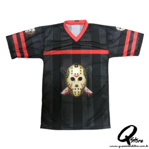 Fantasia Camisa Jason Furadinha - Halloween