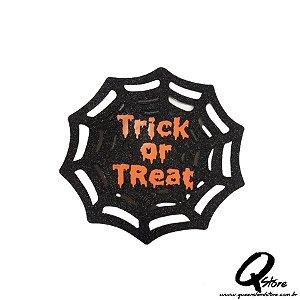 Placa Halloween - Trick of Treat