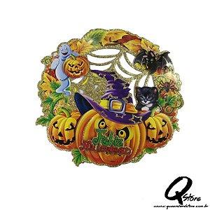 Placa Halloween - Feliz Halloween